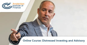 Online course Distressed Investing and Advisory